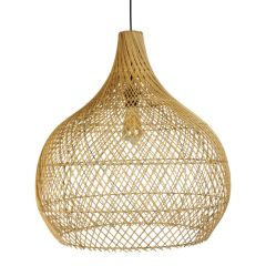 Rotan lamp naturel Ella L