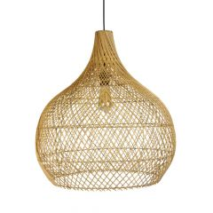 Rotan lamp naturel Ella S
