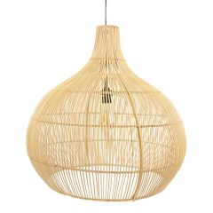 Lamp rotan naturel Max L